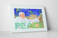 Perry Milou Artwork- Pope Francis PEACE