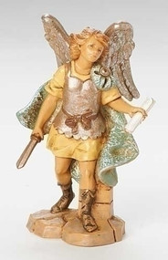 "Fontanini Polymer 5"" Scale Nativity Figures ~ Gabriel the Archangel"