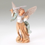"""Fontanini Polymer 5"""" Scale Nativity Figures ~ Michael the Archangel"""