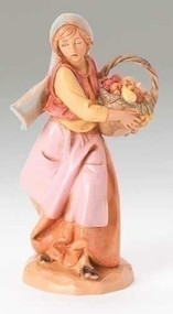 Fontanini Rachel Nativity Figure 5 Inch Scale