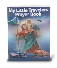 "My Little Travelers Prayer Book features prayers appropriate for all means of travel.  full color Bonella Art! dimensions: 2 3/4"""" x 3 1/2"" with 64 pages."