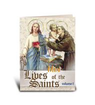"""My Little Prayer Book, Volume I  Featuring 32 Saints. Book of Prayers and small story.  Full color Bonella Art! Dimensions: 2 3/4"""""""" x 3 1/2"""" with 64 pages."""
