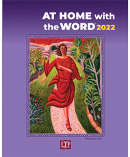 At Home with the Word® guides you to a deeper understanding of the Sunday Scriptures, providing the readings for this liturgical year, insights from Scripture scholars, and action steps. (Additional reflection questions and action steps for families, Christian Initiation, and adult faith-sharing groups may be downloaded from the LTP Website.) The book also includes prayers and citations for weekday readings. Bulk pricing makes At Home with the Word® an economical resource to provide for large groups.  The covers of At Home with the Word® are telling the story of salvation history through eight colorful episodes that depict the unfolding relationship between humanity and the Triune God — Father, Son, and Holy Spirit. The series began in 2017 with creation; continued in 2018 with God's covenant with Abraham, in 2019 with Moses leading the people across the dry bed of the Red Sea. The 2020 cover portrays Ezekiel's vision in the valley of the dry bones and 2021 shows John the Baptist baptizing the Lord. This year shows Mary Magdalene running to tell the disciples the news of the Resurrection. The last two covers show Christ returning to his Father at the Ascension, and the coming of the Holy Spirit at Pentecost. Artist Cody F. Miller created the scenes of the covenant with Abraham and Pentecost. William Hernandez painted the vision from Ezekiel, and James B. Janknegt has contributed the other five. Paperback | 8 x 10 | 144 pages | Language: English