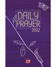 """Daily Prayer is the perfect companion for your spiritual journey. Versatile and easy-to-use, this trusted resource has assisted Catholics in deepening their faith and prayer life for over a decade. Equally useful for group or individual prayer, each day's prayer centers on a scripture reading, along with a reflection, a psalm, intercessions, and closing prayer.   Daily Prayer 2022 provides an introduction to Catholic prayer for those involved in the Rite of Christian Initiation of Adults and an easy-to-use format for Catholics of all ages. It provides a simple order of prayer for each day of the liturgical year from the First Sunday of Advent, November 28, 2021 through Saturday, November 26, 2022.  As the perfect gift for parish volunteers, teachers, and catechists, it will aid each person in the parish to foster a practice of prayer, and can be used to begin or end parish meetings.  Paperback, 6"""" x 9"""" ~  400 pages"""
