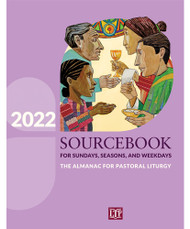 """For over thirty years, Sourcebook for Sundays, Seasons, and Weekdays has been a trusted resource for preparing the various liturgies of the Church. This annual resource has been reenvisioned, reorganized, and redesigned to bring you more concise and helpful material to enlighten and inspire those who prepare the liturgy, especially the Sunday Mass, the """"source and summit of the Christian life.""""  The new features include:  Preaching points  Additional Scripture insights for the Proper of Saints Music preparation guidance and song suggestions Ways to connect the liturgy to the Christian life Original Mass texts for Sundays, solemnities, and feasts of the Lord Seasonal worship committee agendas Ideas for celebrating other rites and customs Online supplement for preparing the sacramental rites The familiar features include:  Seasonal introductions Daily calendar preparation guides Dated entries with liturgical titles, Lectionary citations, and vestment colors Scripture insights Brief biographies of the saints and blesseds Guidance for choosing among the options provided in the ritual texts Paperback ~ 8 3/8 x 10 7/8 ~ 416 pages"""