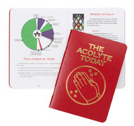 A gift to the Mass Servers at your alter. This keepsake manual has a leatherette cover with full color instructions, glossary, calendar, and a wealth of other information.