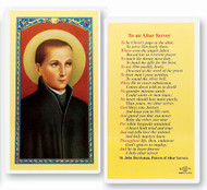Prayer to an Altar Server, St. John of the Cross
