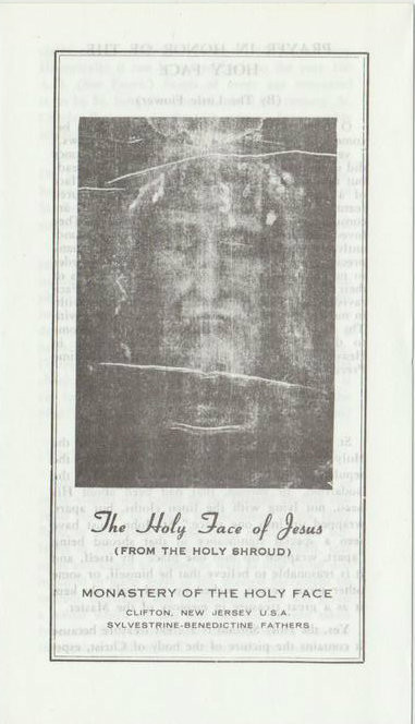 Holy Face Of Jesus Medal And Pamphlet 10 Pk St Jude