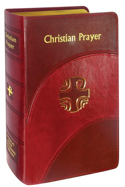 This regular-size edition of the official one-volume version of the internationally acclaimed LITURGY OF THE HOURS contains the complete texts of Morning and Evening Prayer for the entire year. With its readable 10-pt. type, ribbon markers for easy location of texts, and beautiful two-color printing, this handsome and handy volume simplifies praying the official Prayer of the Church for today's busy Catholic. 2080 Pages ~  4 3/8W X 6 3/4H
