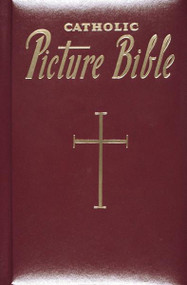 "Here are Catholic stories taken from the Holy Bible, intended for the whole family and easy to understand. The first part treats the Old Testament from Adam to Christ and contains the most important and memorable events in God's dealings with man during that time. The second part contains sixty stories from the New Testament that narrate beautifully the life, teachings, and work of Our Lord and Savior. These simply written stories, praised by leading Catholic educators for their style, will delight children time after time.  5 3/4 X 8 3/4""  ~ 240 pages with  burgundy padded cover. Gift Boxed"