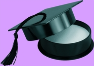 """3"""" Black  Graduation Hat Favors!  Fill with your graduates favorite candy or a piece of jewelry! Bulk pricing available. Please make selection for color."""