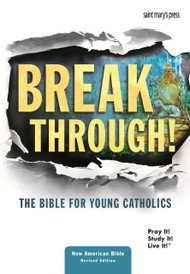 Breakthrough! The Bible for Young Catholics is God's Word presented especially for you. Explore and get to know the people of the Bible as they share their stories, struggles and joys. Encounter bold, vibrant art that brings Scripture to life like never before. Travel through salvation history and discover that no matter what we are experiencing, God never stops trying to break through because he is always where for you!