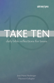 Take Ten includes a lectionary-based reading for each day of the year. Readings are chosen from cycle A, B, or C, or are the exact reading for feast days or solemnities. Each day has a Scripture citation, a reflection, a short prayer, and a connection to an article in The Catholic Youth Bible®. Take Ten helps young people apply biblical wisdom to their everyday lives, and its smaller format makes it easy to carry. Its 365 connections offer young people one more way to pray, study, and live The Catholic Youth Bible® more deeply every d
