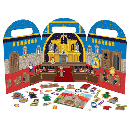 My Little Church Magnet Play Set