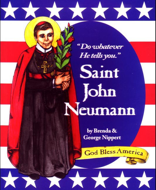 """Come and Journey with America's first male saint through the turbulent early days of our country's Catholic history. This """"little Bishop"""" did big things that still nourish our faith today! Copyright 2009. Dimensions: 7 x 8.5 inches. Soft cover. 31 pp."""