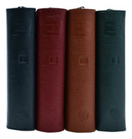 409/10LC: Assorted Colors Leather Covers for LOTH: Set of 4
