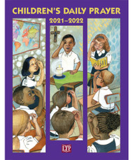 """Children's Daily Prayer 2021 through 2022 includes: An order of prayer for each day and week of the school year from August 15, 2021–June 29, 2022 Prayer services, suitable for classroom or large gatherings, for solemnities, feasts, and other special occasions An """"About the Season"""" section explaining each liturgical time, its character, and how to create conducive prayer environments for it Send home pages connecting childrens' classroom and home lives New this year: Instructions for parents on using the book with their children at home, and how to set up a prayer space.  More pronunciation guides have been added in the Opening sections and within the Scripture passages to accommodate young readers who will be leading prayer. Teachers, catechists, and parents can use Children's Daily Prayer to instill in children the habit of prayer and help form them in the heart of Christ's Paschal Mystery, the core and center of all liturgical prayer.  Paperback 8 ⅜"""" x 10 ⅞"""" 368 pages"""