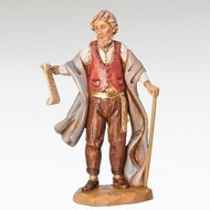 "Fontanini Polymer 5"" Scale Nativity Figures ~  Giorgio trading Post Owner Figure"