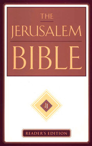 "Reissued for the first time in over a decade, The Jerusalem Bible, Reader's Edition carries the imprimatur of the Roman Catholic Church. It meets the need for a modern translation based on the most reliable ancient texts. the bible includes the complete canon of Holy Scripture, including the deuterocanonical books; An English translation that is as close as possible to the literal meaning of the ancient texts; Traditional, non-inclusive language; Brief introductions to each book that orient the reader to the historical setting; Limited footnotes where necessary to clarify only the literal meaning of the text; Portable 5 1/2"" x 8 1/4"" x 1 7/8"" trim size; 8 point text; Single column format;Footnotes;  and is a Jacketed Hardcover"