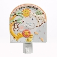 "5.5"" God Created Everything Wall Night Light"