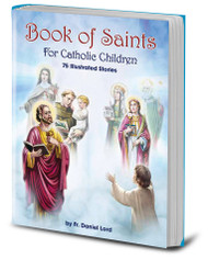 "Lives of the Saints for Children in one volume. 192 Pages in full color! Measures 6.5"" x 9.5"""