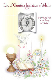 Rite of Christian Initiation of Adults Greeting Card with Remembrance Token