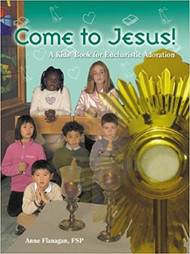 Jesus is a friend like no other.  He always cares, always listens, and is always ready to help - and in the Eucharist, Jesus is always with us.  This lovely book introduces children to the concept of spending time with Jesus in Eucharistic adoration. Includes three visits to Jesus in the Eucharist, featuring prayers, Bible stories, and illustrations. Each prayer outline is divided in three parts: Jesus our Way, Jesus our Truth, and Jesus our Life. Includes notes for adult prayer leaders, practical recommendations for using the book with groups, and a list of Eucharistic adoration resources. Also includes a section of basic Catholic prayers, the mysteries of the Rosary, and how to pray the Rosary. Kid-friendly design makes this book easy and fun to use! A wonderful. affordable resource for families, schools, and parish groups.