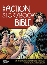 The Action Storybook Bible invites families with young children to explore God's redemptive story together. From the sleek and amazing creatures God created at the beginning of the world to the powerful kings who reigned over ancient Israel to Jesus's gift of eternal life for you and your family—God has a beautiful and exciting plan for the world. Where do you fit into that plan? How are the truths found in God's Word reflected in your life?  This Bible storybook features 15 episodes highlighting key milestones in God's story, packed with dozens of scenes—combining stories from God's Word with brand-new captivating illustrations from Brazilian master-artist Sergio Cariello, illustrator of the bestselling The Action Bible. Discover your family's place in God's redemptive story and together put your faith into action!  Interactive features include:  Fifteen episodes loaded with over 350 brand-new illustrations from master-artist Sergio Cariello. Short and easy reading for all ages. Take turns telling God's redemptive story! The Life, Faith, Action! feature wraps up each episode and helps your family recognize how God is moving through each story, discover how that relates to your daily lives, and feel inspired to put your faith into action. Heroes Hall of Fame index, where you can look up your favorite Bible characters and discover their stories!