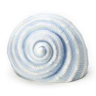 """Fishers of Men.....4""""H Blue Seashell LED light. Porcelain"""