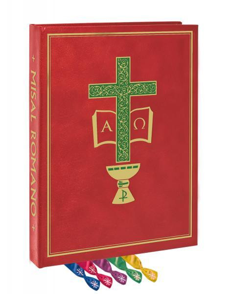 "The compact 7"" x 9"" Chapel Clothbound Edition includes all of the enhancements that celebrants have come to know and trust. Features include easy-to-read type for both text and music;  printed, gold-stamped end papers; durable tabs that respect functional page turns; a sturdy Roxite cover; and 5 satin ribbon markers. As with the Altar Edition, this volume features specially produced acid-neutral cream paper with the highest opacity without adding unnecessary bulk and weight. The sturdy 80 lb. paper used for the Order of Mass provides extra strength to withstand everyday use"