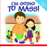 Here is a hardcover book that will help young children join in the celebration of the Mass! Little hands will enjoy lifting the flaps to discover what happens next, whether its singing with the choir or shaking hands at the Sign of Peace. At home or at Mass, Im Going to Mass will engage toddlers and preschoolers with its colorful illustrations and simple language. For ages 2 to 5.