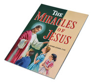 The Miracles of Jesus,  ~  A presentation of the miracles Jesus performed in the Bible. Full-color illustrations. Part of a magnificant series of religious books that will help all children better understand the Catholic faith.Simply written by Rev. Lawrence G. Lovasik, S.V.D. and illustrated in full color. 5 1/2 X 7 3/8 ~ Paperback 32 pages. St Joseph Picture Books