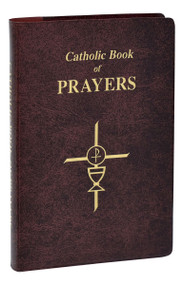 The Catholic Book of Prayers  is printed in giant size type and especially helpful for use in dimly lit churches and for those with limited vision. Today's most popular general prayer book, the Catholic Book of Prayers offers prayers for every day, as well as many special prayers including prayers to the Blessed Trinity, Our Lady, and the Saints. Compiled and edited by Rev. Maurus FitzGerald, O.F.M., this giant type book has an elegant burgundy leather cover with a ribbon for convenient place-keeping and can be carried easily in a purse or pocket. With a helpful summary of our Catholic Faith, this useful prayer book will prove invaluable for making regular prayer easy and meaningful.