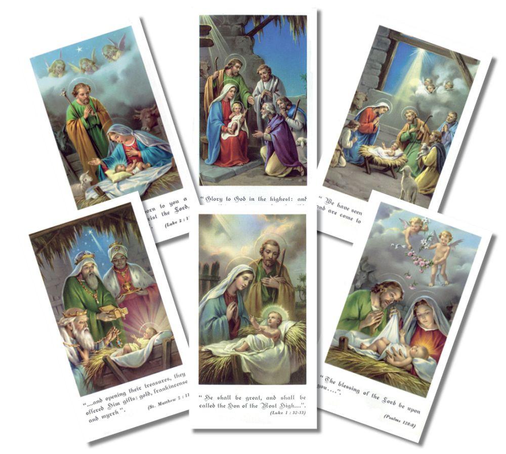Bethlehem Series Christmas Holy Cards