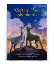 Certain Poor Shepherds by Elizabeth Marshall Thomas, illustrated by Jonathan Bartlet Suitable for children 8 and up, this beautiful but unsentimental perspective on the nativity story follows a group of animals who have seen firsthand the faults and follies of humans who need a redeemer. Gentle illustrations, tender text, and an uplifting ending soften the harsher realities of the story. Animal lovers, for sure, will appreciate this Christmas tale.