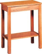 """Offertory table Dimensions: 30"""" height, 40"""" width, 16"""" depth"""