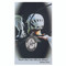 """LacrosseBoys Pewter Sport Medals on a  24""""-36"""" black adjustable leather  cord. Laminated prayer card comes with the pendant."""