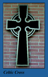 Indoor/Outdoor Wall Mounting Cross-Celtic