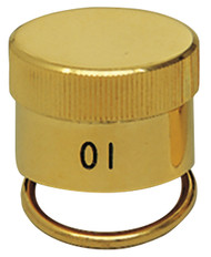 High Quality heavy gauge, precision made Oil Stocks with rings.  Stainless steel or 24K gold plate