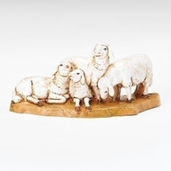 "Fontanini 5"" Scale Nativity figure, Sheep Herd.  A wonderful addition to your Fontanini Nativity Collection! Made of polymer."
