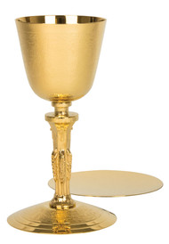 Chalice, straw texture, A-415G