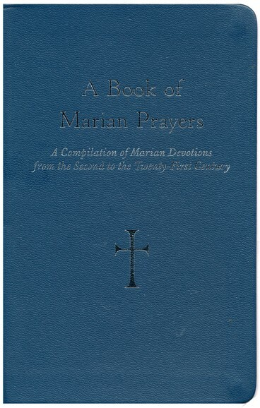 A Book of Marian Prayers is a compilation of Marian Devotions from the second to the twenty-first century. Composed, edited, and translated by William G. Storey, readers will discover a vast collection of Christ-centered Marian prayers. Almost every age of Church life has produced popular devotions to the Mother of God. This prayer book dedicated to Mary contains many such devotions. The most outstanding ones are the Little Office of Mary, the Akathistos Hymn of the Theotokos, the Rosary of Twenty Mysteries, and the many Marian novenas. Also included in the book is a special prayer to Mary written by Pope John Paul II. 4 x 6 1/4 Leatherette.