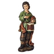 "39"" Scale Drummer Boy in color. Drummer Boy figure dimensions are: 30""H x 11""W x 12"". Drummer Boy complements Nativity Set 35020"