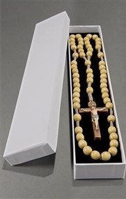 Beautiful hand carved wood and cord rosary,  Made in Italy. Must see to appreciate the details.