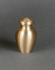 "3"" Universal Keepsake Urn. Can be used to match several larger urns."