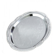 "Chrome Tray measures 9 1/2""L x 6 3/4""W"