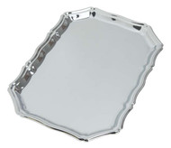 "Chrome Tray Item #9764C 9 3/4"" x 7"""