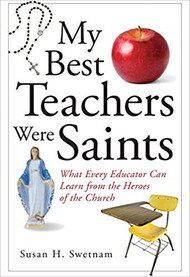 Discipline problems, self-doubt, tense meetings, classroom stress . . . Couldn't every teacher use some saintly help? Every teacher can think of at least one mentor who has served as an inspiration over the years. However, many teachers—even those with a Catholic faith—might not have considered that saints can serve as mentors. Author and teacher Susan H. Swetnam believes that saints aren't only good teachers—they're the best teachers.  In My Best Teachers Were Saints, Swetnam focuses on fifty-two saints—many of them teachers—who faced challenges similar to those that nearly all educators face today, from indifferent students and recalcitrant colleagues to their own limitations and feelings of isolation. With the examples of saints such as Augustine, Ignatius of Loyola, and Scholastica, Swetnam eagerly shares how their words and deeds helped immensely in her own career as a teacher and how they can aid and inspire other educators as well.  Anyone involved in education—whether teaching religion or mathematics, kindergartners or graduate students—will discover within these pages a treasure trove of saintly help that is sure to prove that the best teachers are in fact saints!