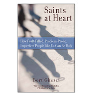 """You're no saint!"" is a familiar phrase, and one that nearly all of us probably believe accurately reflects our own hearts and lives. We assume that sanctity is reserved for an elite group of people who follow spiritual disciplines so difficult and impractical that no ordinary person could ever perform them.  But best-selling author Bert Ghezzi believes every one of us can be holy, and he shows us how in Saints at Heart. By pointing out that all the saints—even the apostles—were sinners, he helps us understand how holiness is not about being perfect, but rather about making a heartfelt decision to fall in love with God and put God first.  Each of the 10 saints featured in this book illustrates a specific spiritual practice that can help us draw closer to God. St. Francis models lifelong conversion; Dorothy Day, prayer and the study of Scripture; and Pope John Paul II, evangelization. Every chapter ends with a section titled ""Think, Pray, and Act,"" which contains questions for reflection and application."
