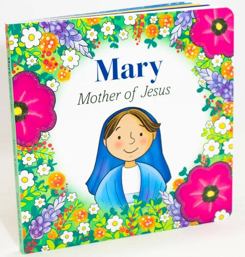 This charming, simple, and captivating board book introduces children ages 1 to 4 to Mary and illustrates her love for Jesus. The straightforward language and sweet illustrations ensure that toddlers will pick up this board book again and again. The story teaches them that Mary is a caring mother, a loving servant of God, and someone we can turn to in prayer and faith. This book is sure to become a family favorite.  Recommended for children ages 1-4  and perfect for reading aloud. Book Size: 7 x 7 inches. Pages: 14